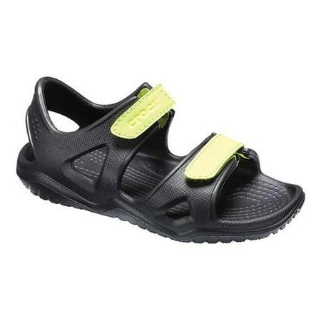 548e5303ff Crocs - Crocs Boys' Child Swiftwater River Sandals - Walmart.com