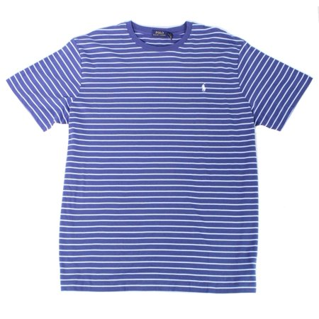 Ralph Lauren Mens Classic Fit Basic T-Shirt, Blue, 3LT