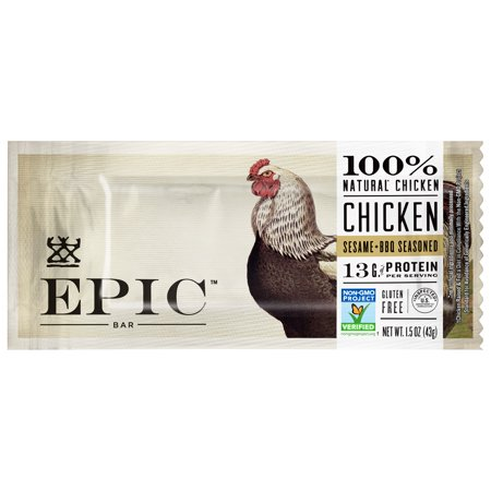Epic Chicken Sesame + Bbq Seasoned Bar, 1.5 OZ
