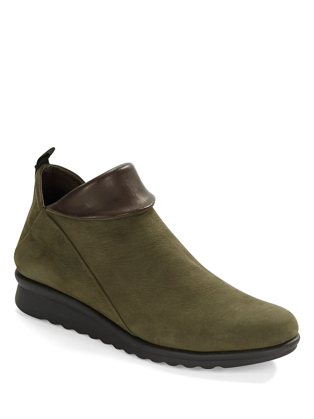 Pan Damme Leather Ankle Boots