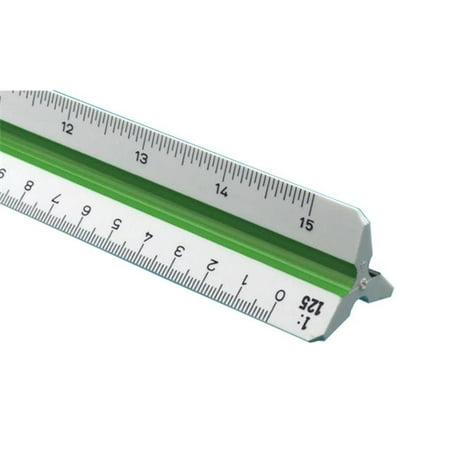 Alvin 30cm High Impact Plastic Metric Triangular Scale Alvin Drafting Tools
