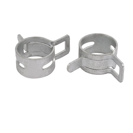 10 Pcs 12mm Spring Band Type Action Fuel Hose Pipe Low Pressure Air Clip Clamp - image 2 of 3