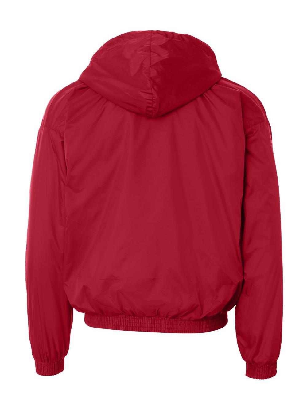 22e124c46 3280 Augusta Sportswear Outerwear Hooded Fleece Lined Jacket