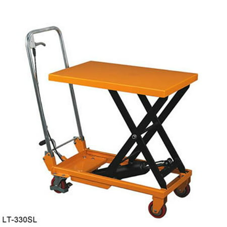 - Wesco Industrial 260207 Slt-660-11 Folding Handle Scissor Lift Tables