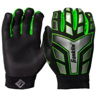 sports shoes 3561b 26df8 Product Image Franklin Sports NFL Grip Performance Football Receiver Gloves