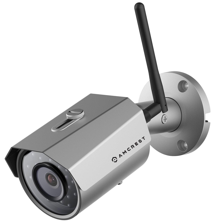 Amcrest ProHD Outdoor 3-Megapixel (2304 x 1296P) WiFi Wireless IP Security Bullet Camera - IP67 Weatherproof, 3MP (1080P/1296P), IP3M-943B
