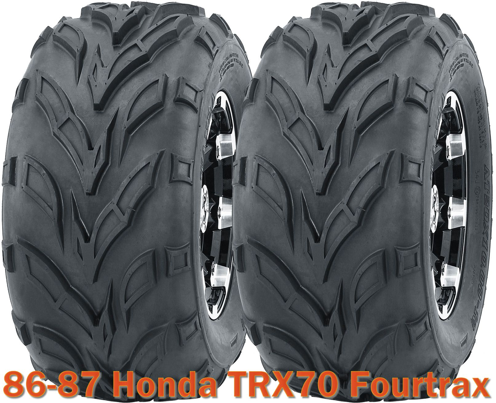 4 16x8-7 WANDA ATV tires set for 1986-1987 Honda TRX70 Fourtrax