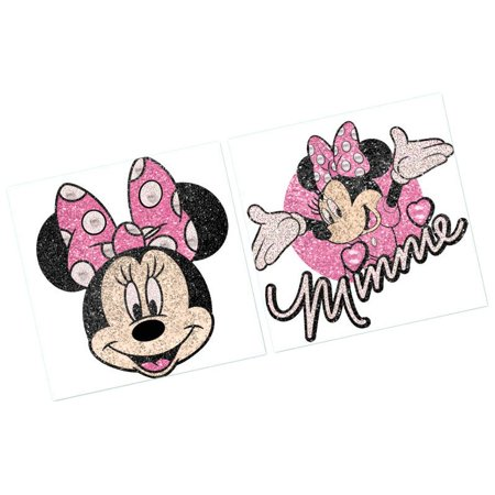 Disney Minnie Mouse Body Jewelry Birthday Party Accessory Favour and Prize Giveaway (1 Piece), Multi Color, 2