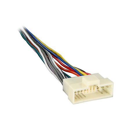 70-1003 Radio Wiring Harness for Kia 95-03 Power/4 Speaker, Plugs into Car Harness at radio By Metra