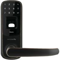 Ultraloq UUL-UL3-BT-AB UL3 Bluetooth-Enabled Fingerprint & Touchscreen Smart Lock (Aged Bronze)