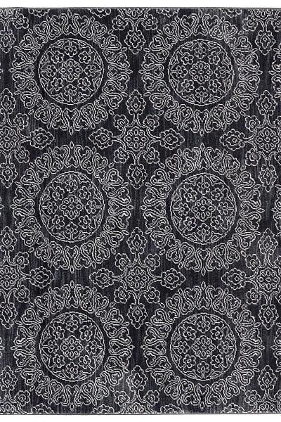"Karastan Pacifica Leawood Black (5' 3""x7' 10"") by Mohwak Home"