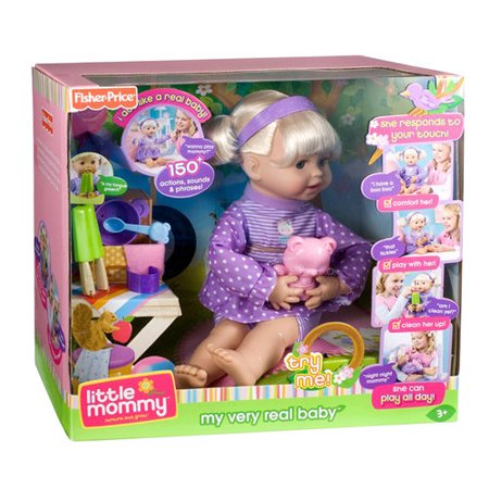 Little Mommy My Very Real Baby Doll Walmart Com