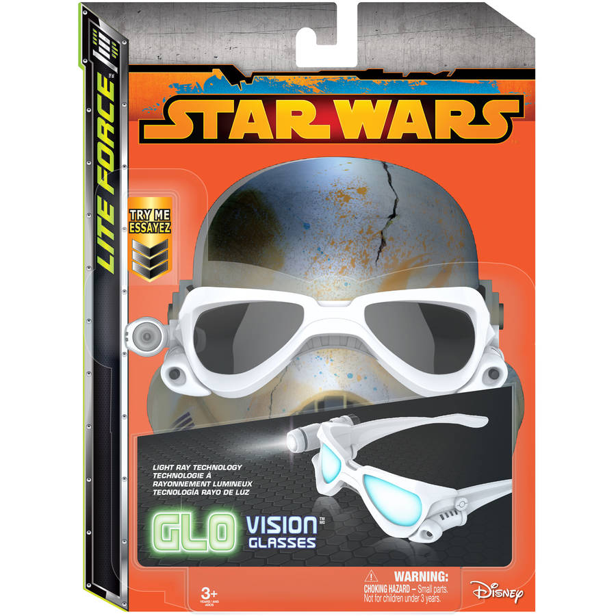Star Wars Glo Vision Storm Trooper