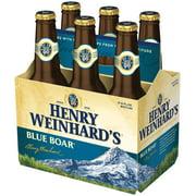 Henry Weinhard's Beer, Blue Boar Pale Ale, 6 Pack Beer, 12 fl. oz. Bottles, 4.6% ABV