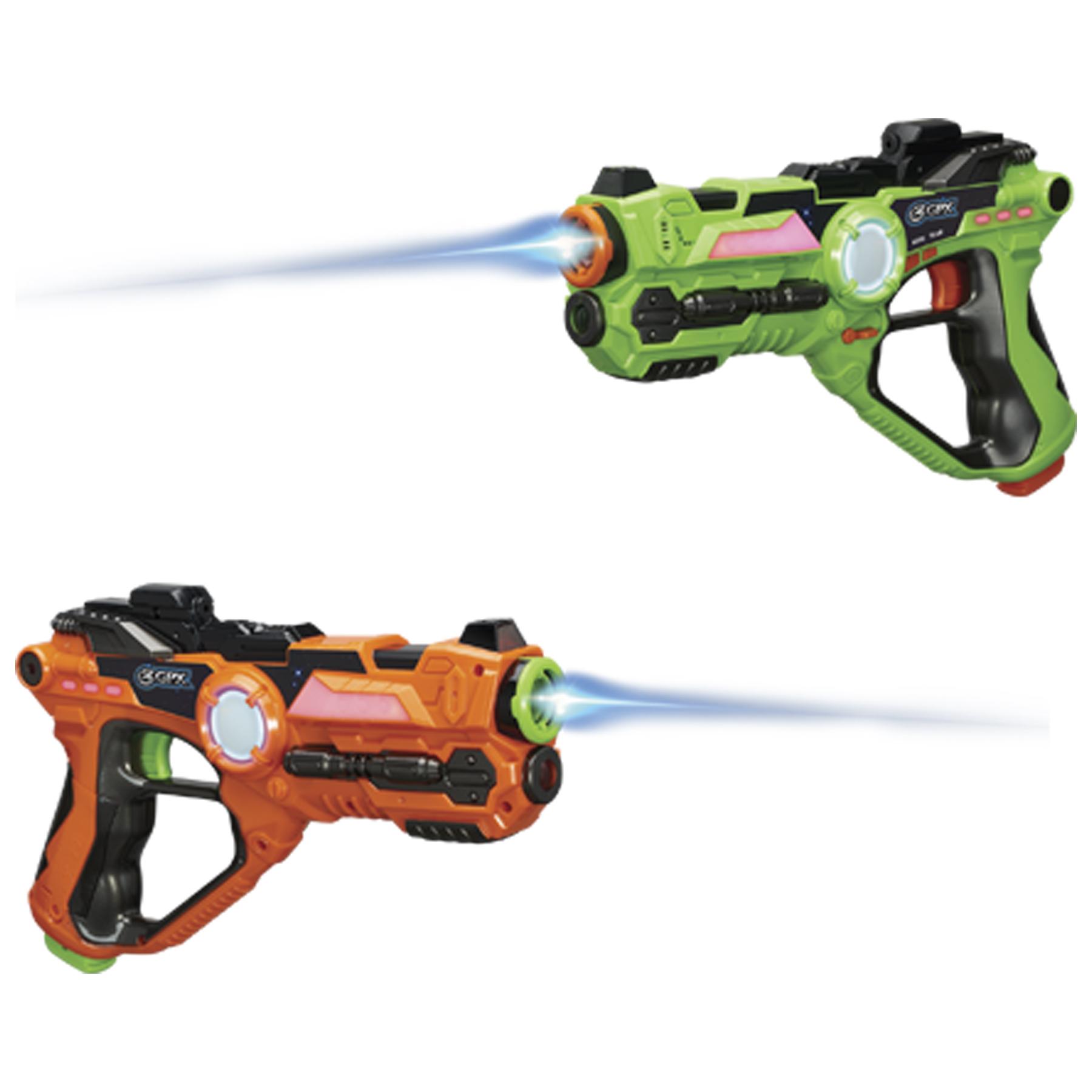 2-Set GPX Laser Tag Blaster