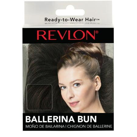 Revlon Ballerina Bun, Black (Best Of Bun B)