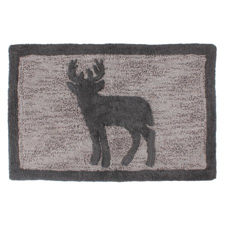 Saay Knight Ltd Wilderness Calling Deer Bath Rug