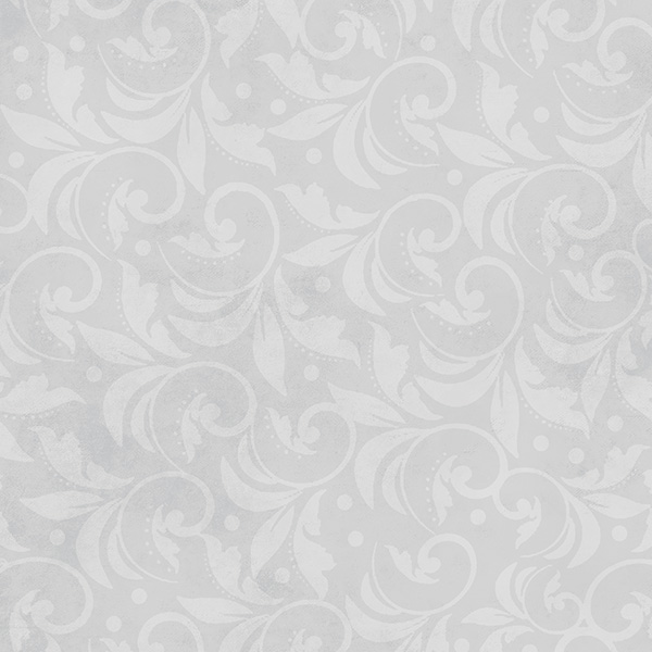 Wilmington Prints Fabrics Vintage Scroll Essential 108 Inch Wide Quilt Back Grey