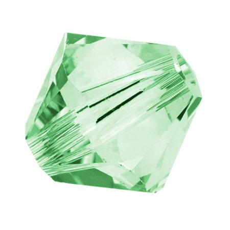 Chrysolite Bicone (Swarovski Crystal, #5328 Bicone Beads 4mm, 24 Pieces, Chrysolite )