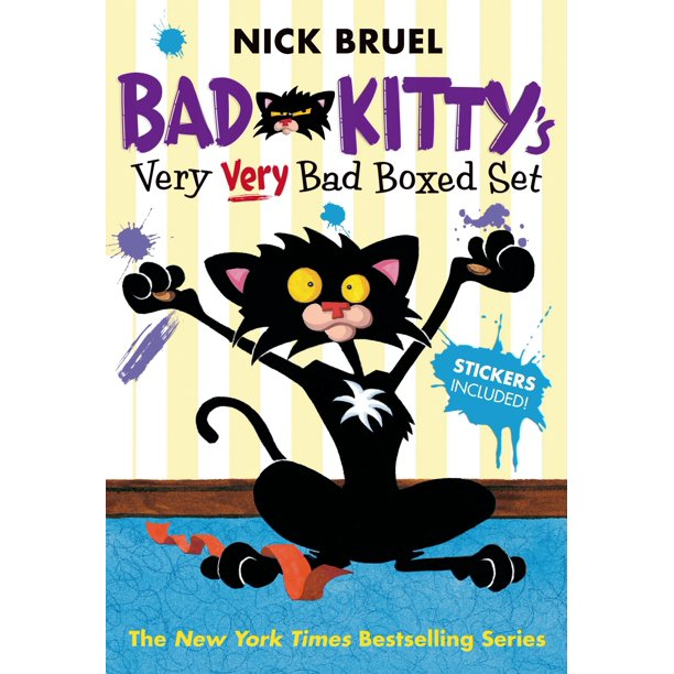Bad Kitty's Very Very Bad Boxed Set (#2) : Bad Kitty Meets the Baby, Bad Kitty for President, and Bad Kitty School Days