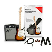 Squier Stratocaster Limited-Edition Electric Guitar Pack With Squier Frontman 10G Amp 3-Color Sunburst