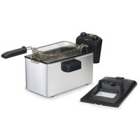 Elite Gourmet 3.5-qt Immersion Deep Fryer with Timer & Temp Knob