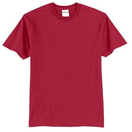 Mafoose Men's Core Blend Tee Shirt Red S - Gold Foil Skirt
