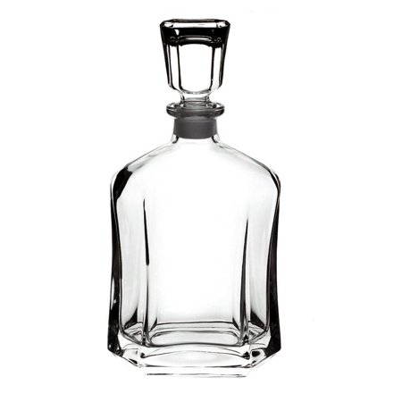 Glass Decanter (Bormioli Rocco Glass Capital Liquor and Wine Decanter)