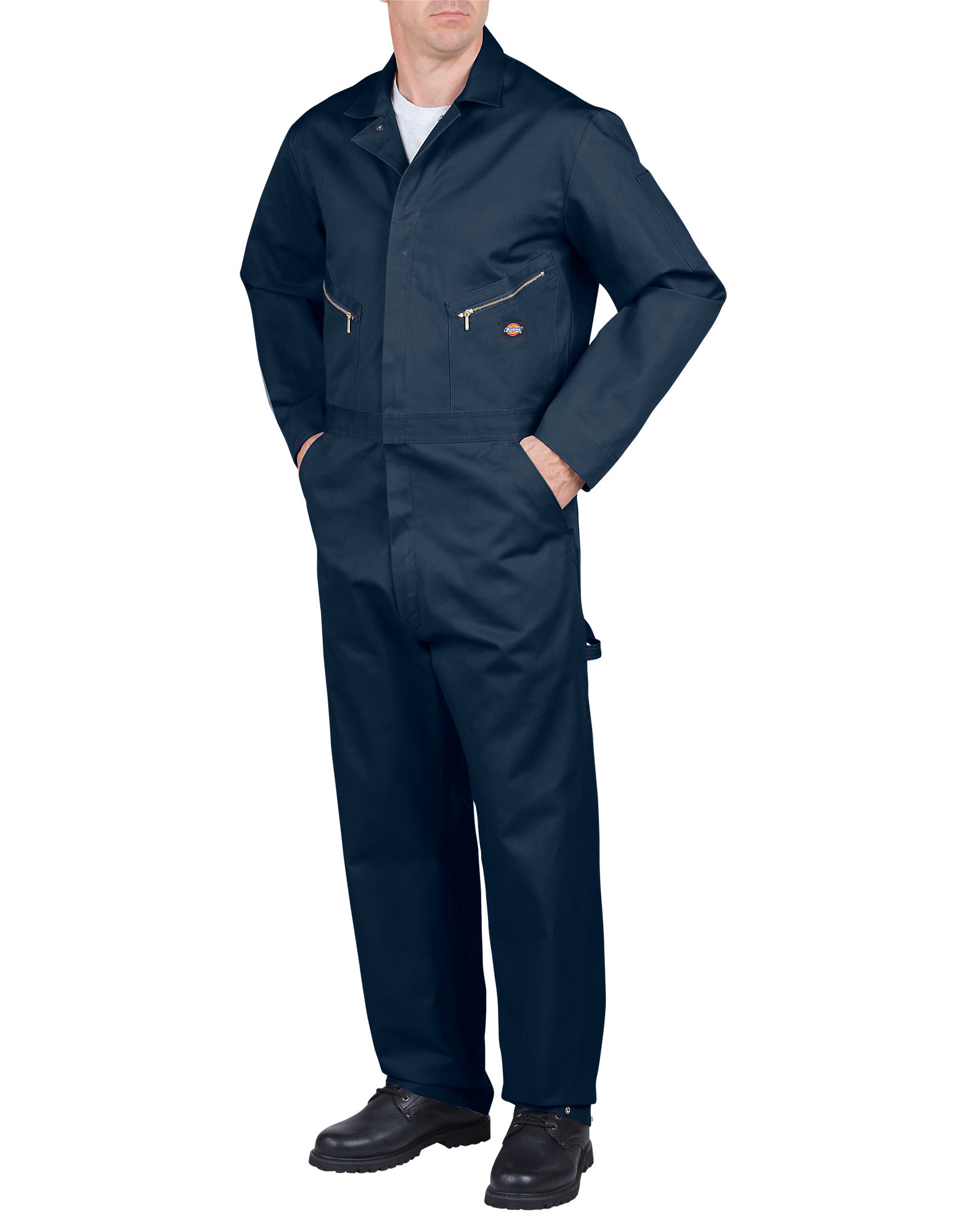Dickies Mens Deluxe Cotton Coverall, Dark Navy 3X TL by Dickies