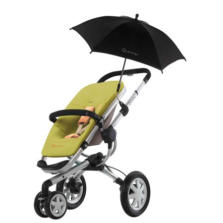 Buzz Parasol, Black (Discontinued by Manufacturer), Perfect fit for the buzz stroller By Quinny