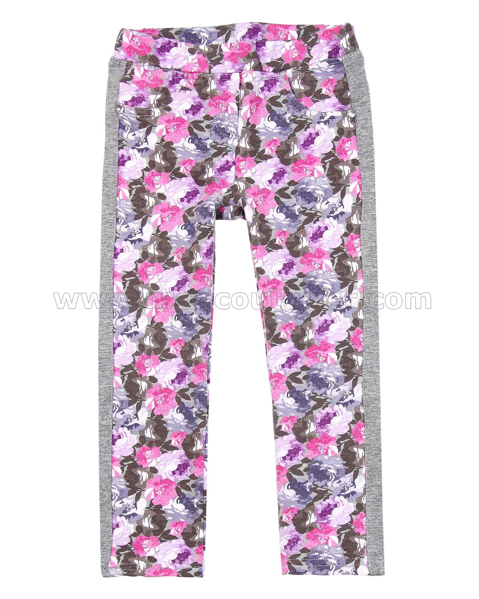 Deux par Deux Girls Knit Leggings Ananas dHiver Sizes 4-10