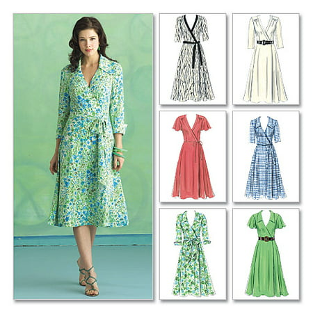 Butterick Pattern Misses Dress  Belt And Sash  Ff  16  18  20  22
