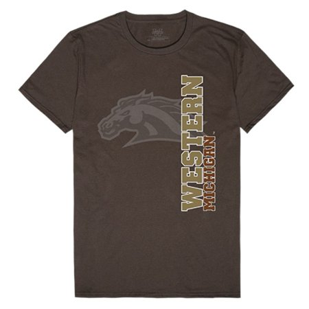 WMU Western Michigan University Broncos Ghost Tee T-Shirt](Western Michigan University Halloween)