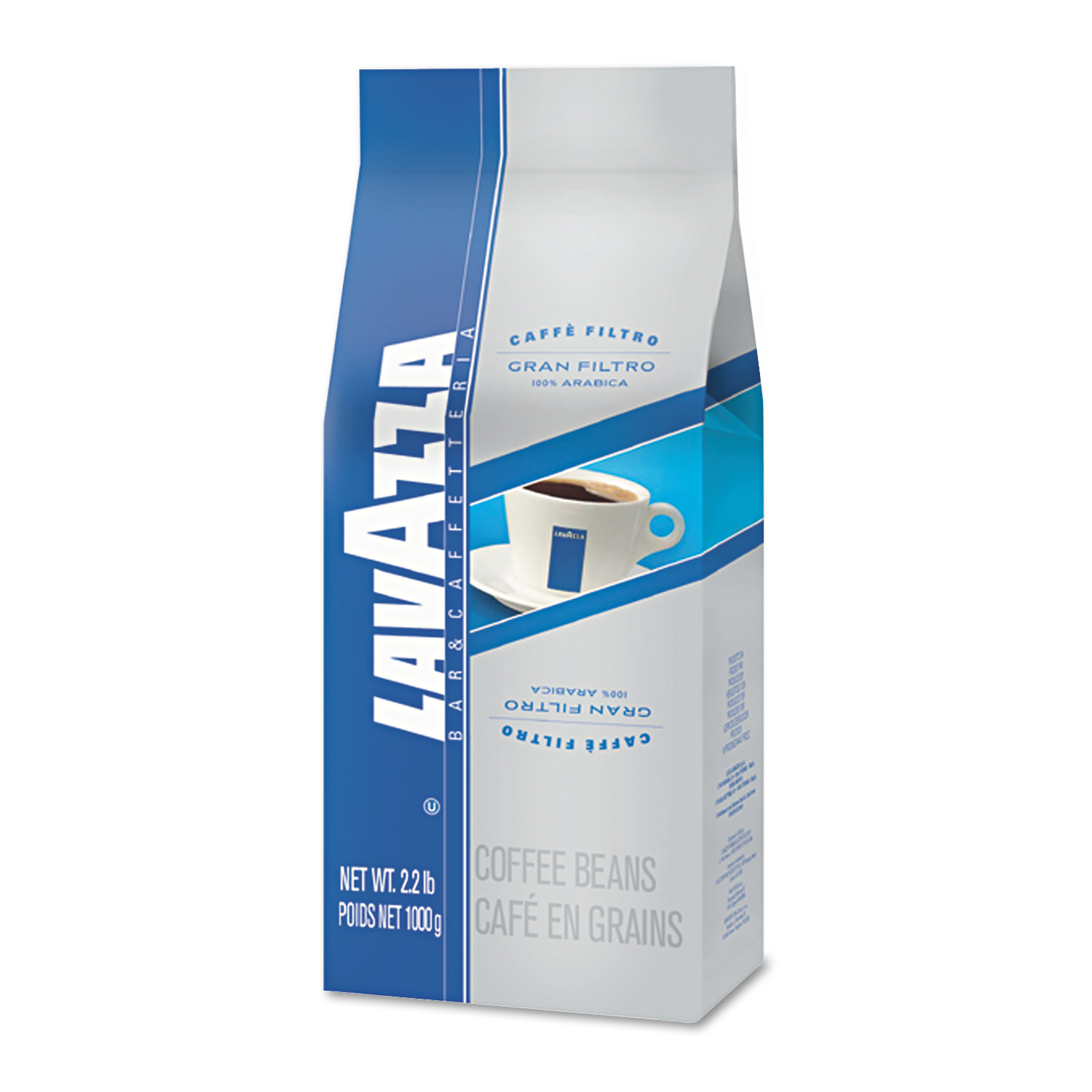 Lavazza Gran Filtro Arabica Blend Italian Light Roast Coffee, 30ct
