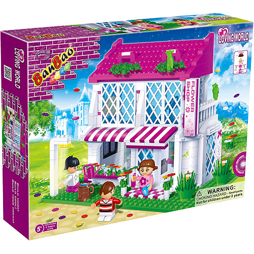 BanBao Flower Shop Play Set
