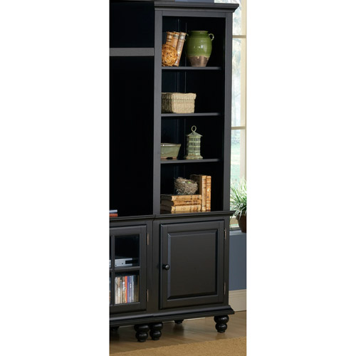Hillsdale Furniture Grand Bay Right Side Pier, Black Finish