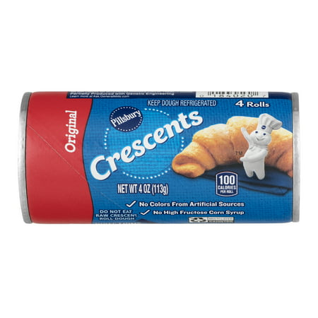 Pillsbury Original Crescent Rolls 4 Ct, 4 oz