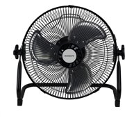 """Plannu 12"""" High Velocity Floor Fan, 12 Speeds Rechargeable Battery Operated Fan Cool Cold Air Circulator"""