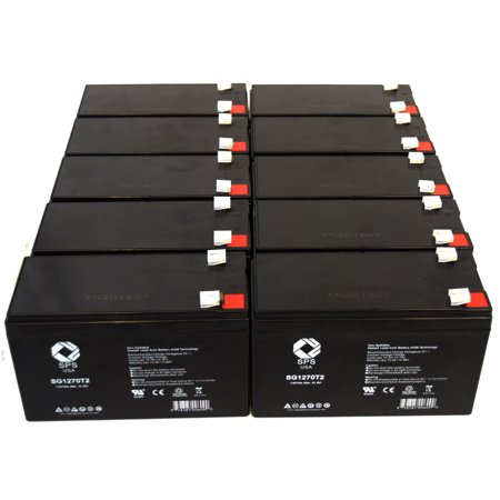 SPS Brand 12V 7 Ah Replacement Battery  for CyberPower OFFICE POWER AVR 1500AVR-HO UPS (10