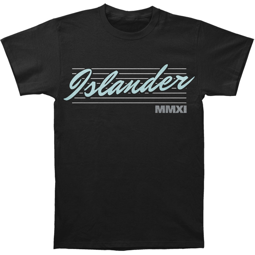 Islander Men's  MMXI T-shirt Black