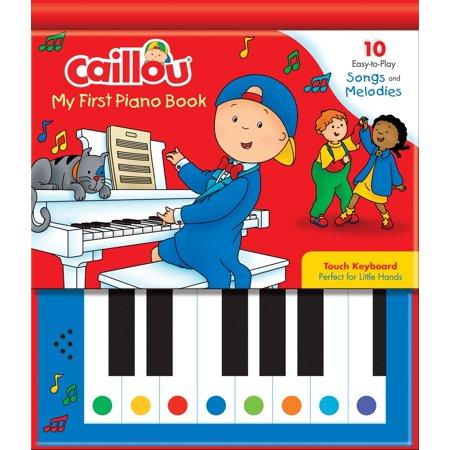 Caillou: My First Piano Book : 10 Easy-To-Play Songs and Melodies - Creepy Halloween Piano Songs