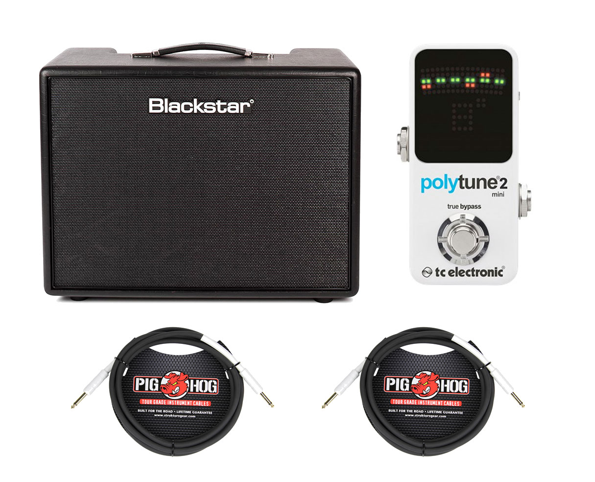 Blackstar ARTIST 15 + TC Electronic Polytune Mini 2 + Instrument Cables by