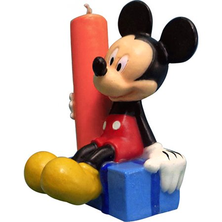 Mickey Mouse Clubhouse Figure Shaped Birthday Candle