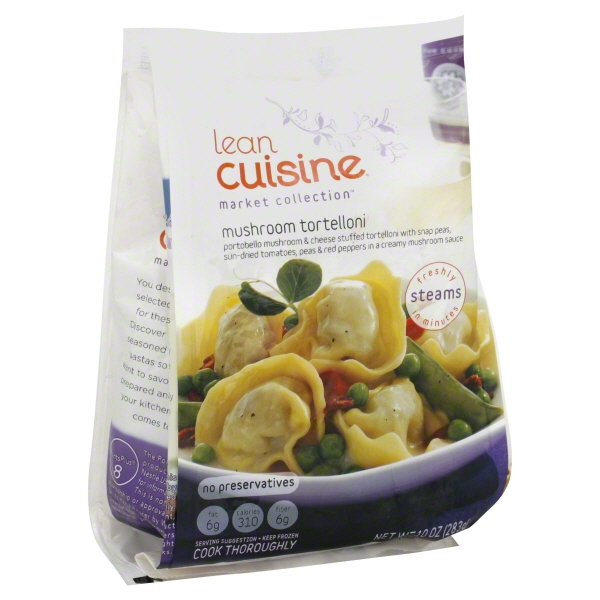 Lean Cuisine Market Collection Mushroom Tortelloni Frozen Entree, 10 oz