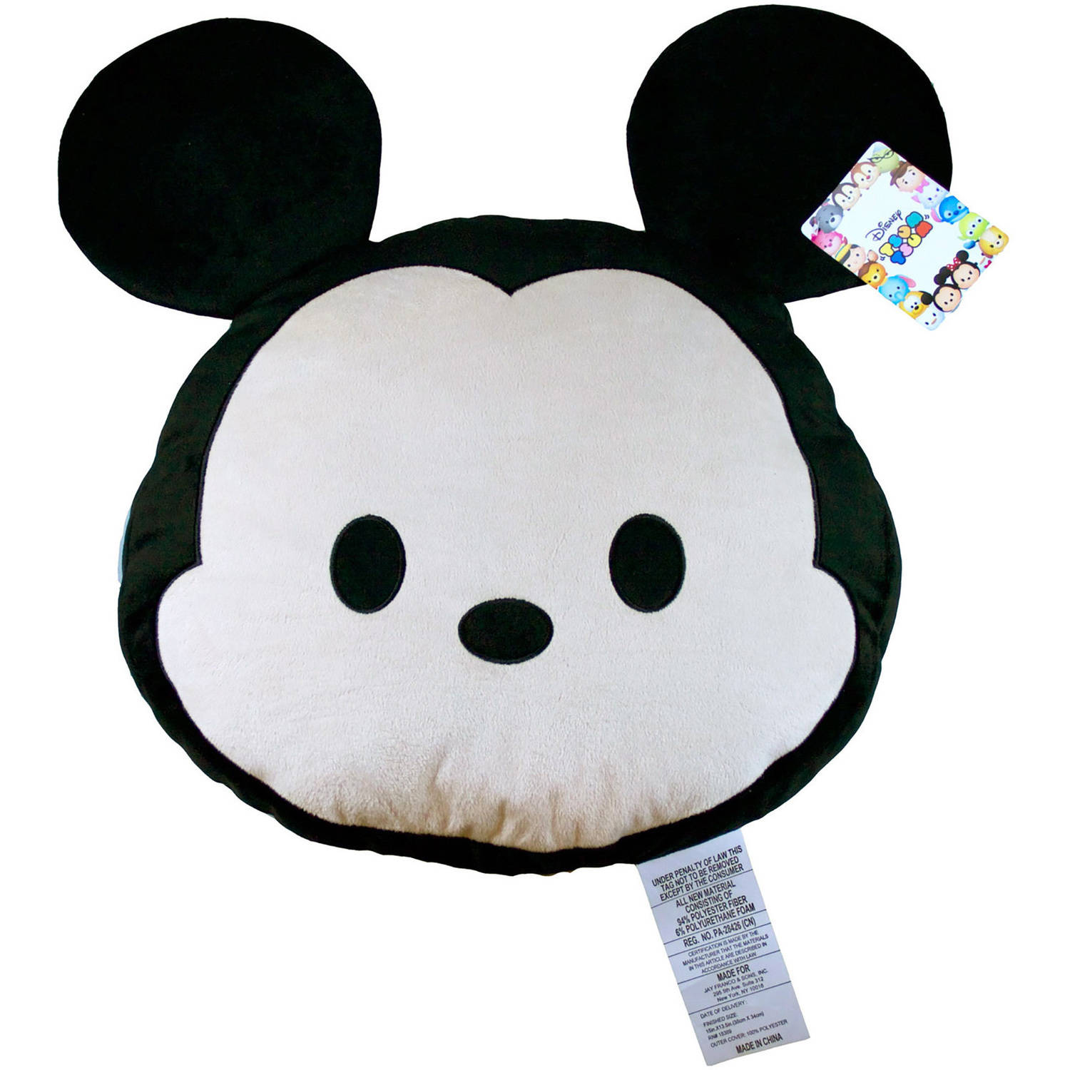 Disney Tsum Tsum Mickey Face Pillow