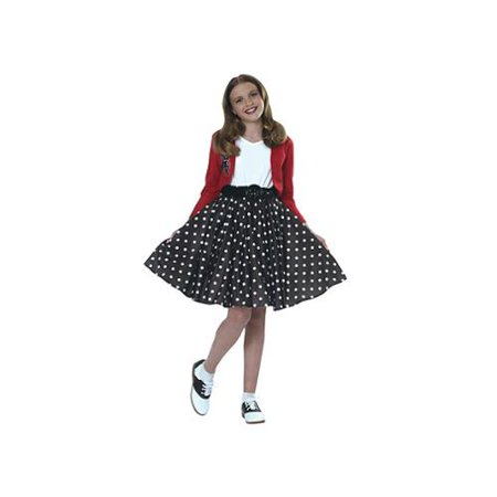 Girl's 1950s Rockin' Polka Dot Costume - 1950s Girl Costume