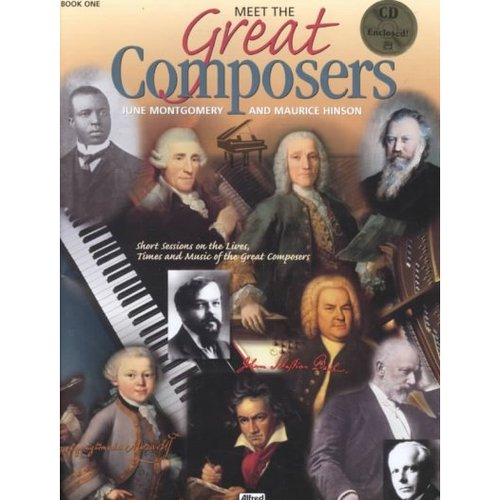 Learning Link: Meet the Great Composers, Bk 1: Short Sessions on the Lives, Times and Music of the Great Composers, Book & CD (Paperback)