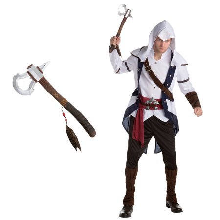Assassin's Creed Connor Adult Costume Bundle Kit - Large