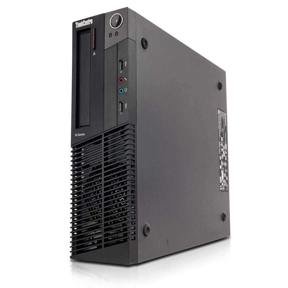 Lenovo ThinkCentre M92p Business Desktop Computer - Intel Core i7 Up to 3.9GHz, 16GB RAM, 240GB SSD, Windows 10 Pro - Certified Refurbished