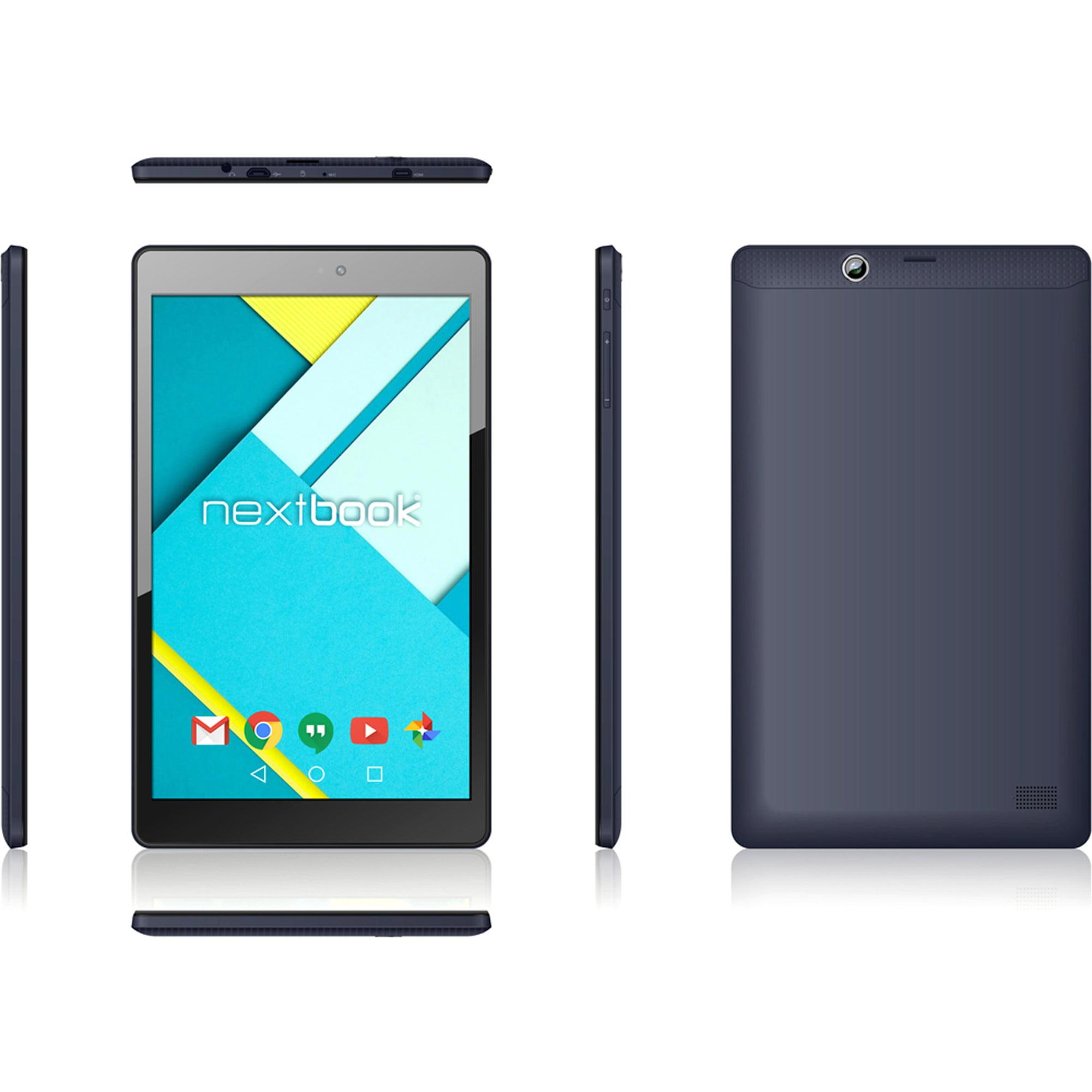 "Nextbook Ares 8L Tablet ( Verizon ) - WiFi + 4G - 16GB - Black - 8"""